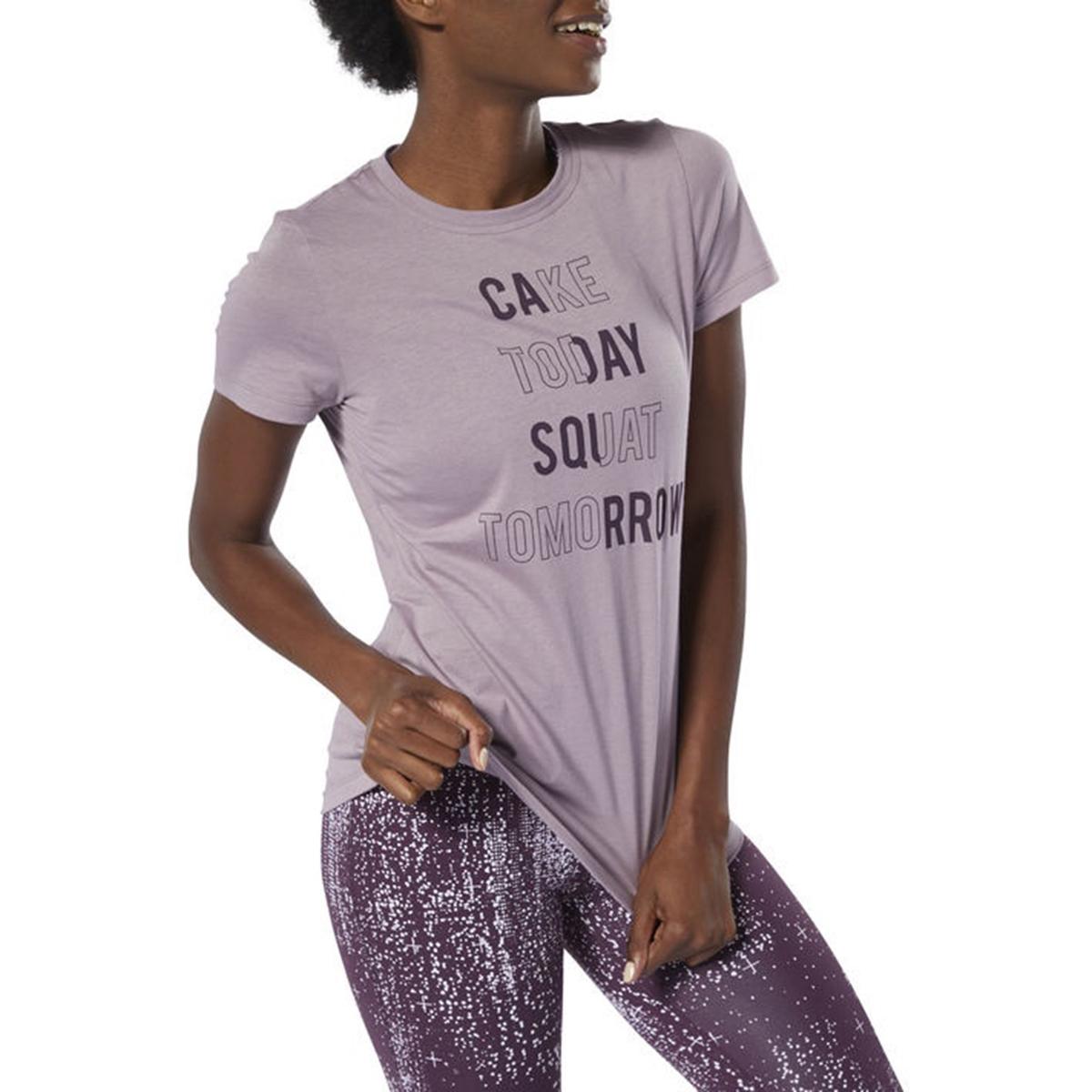 Imagen principal de producto de Camiseta con estampado delante Cake Today - Reebok
