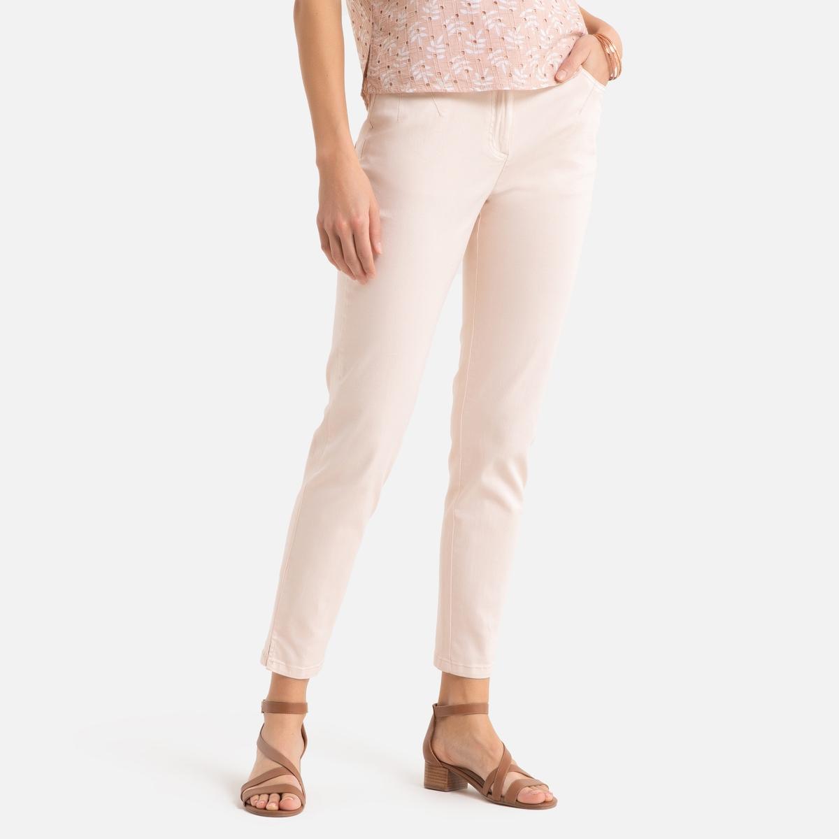 As calças 7/8, em algodão stretch