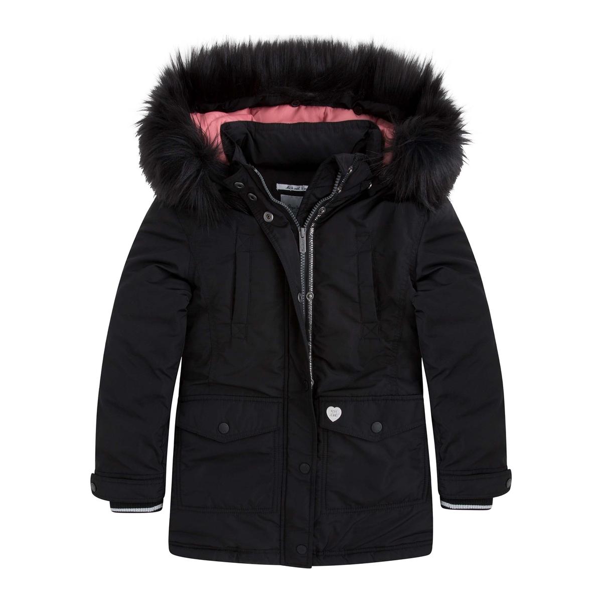 Пальто с капюшоном пальто из меха норки с отделкой мехом енота
