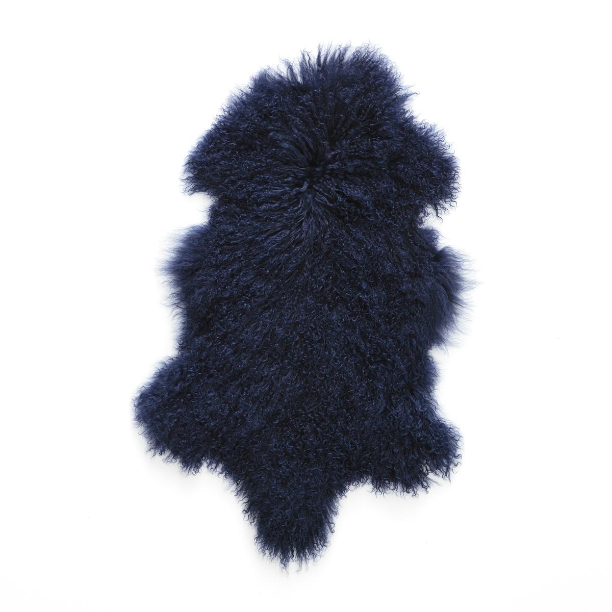 Овечья шкура OSIAДля декора в духе времени и несравненного комфорта используйте эту чудесную овечью шкуру из 100% монгольской шерсти в качестве покрывала на кресло или прикроватный коврик, эффект-гарантирован!Описание прикроватного коврика из овечьей шкуры Osia :100% овечья шерсть из Монголии . Размеры прикроватного коврика из овечьей шкуры Osia :55 x 90 см.Найдите нашу коллекцию Osia на сайте laredoute.ru<br><br>Цвет: синий морской