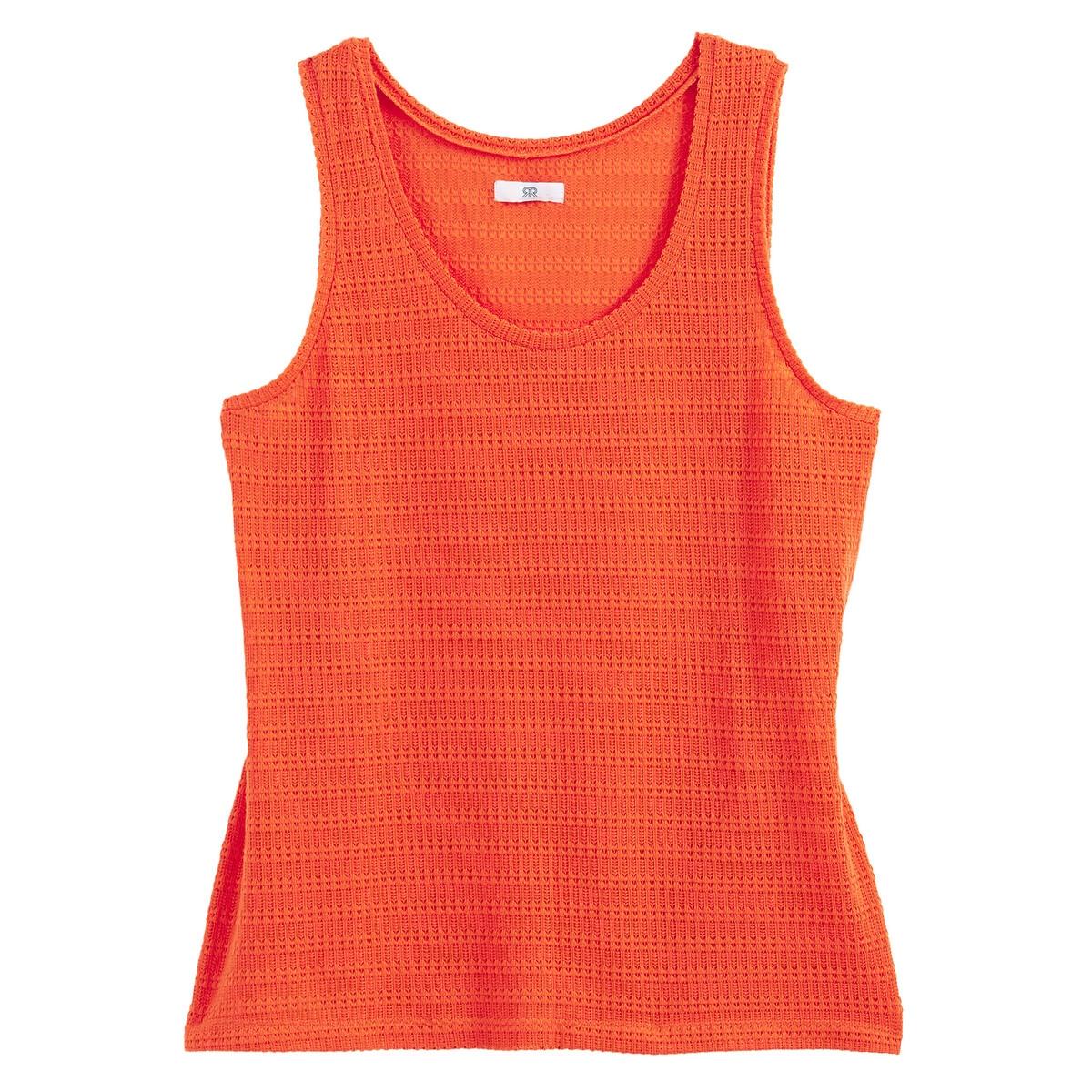 . LaRedoute La Redoute 46/48 (FR) - 52/54 (RUS) оранжевый платье la redoute расклешенное короткое с длинными рукавами 46 fr 52 rus синий
