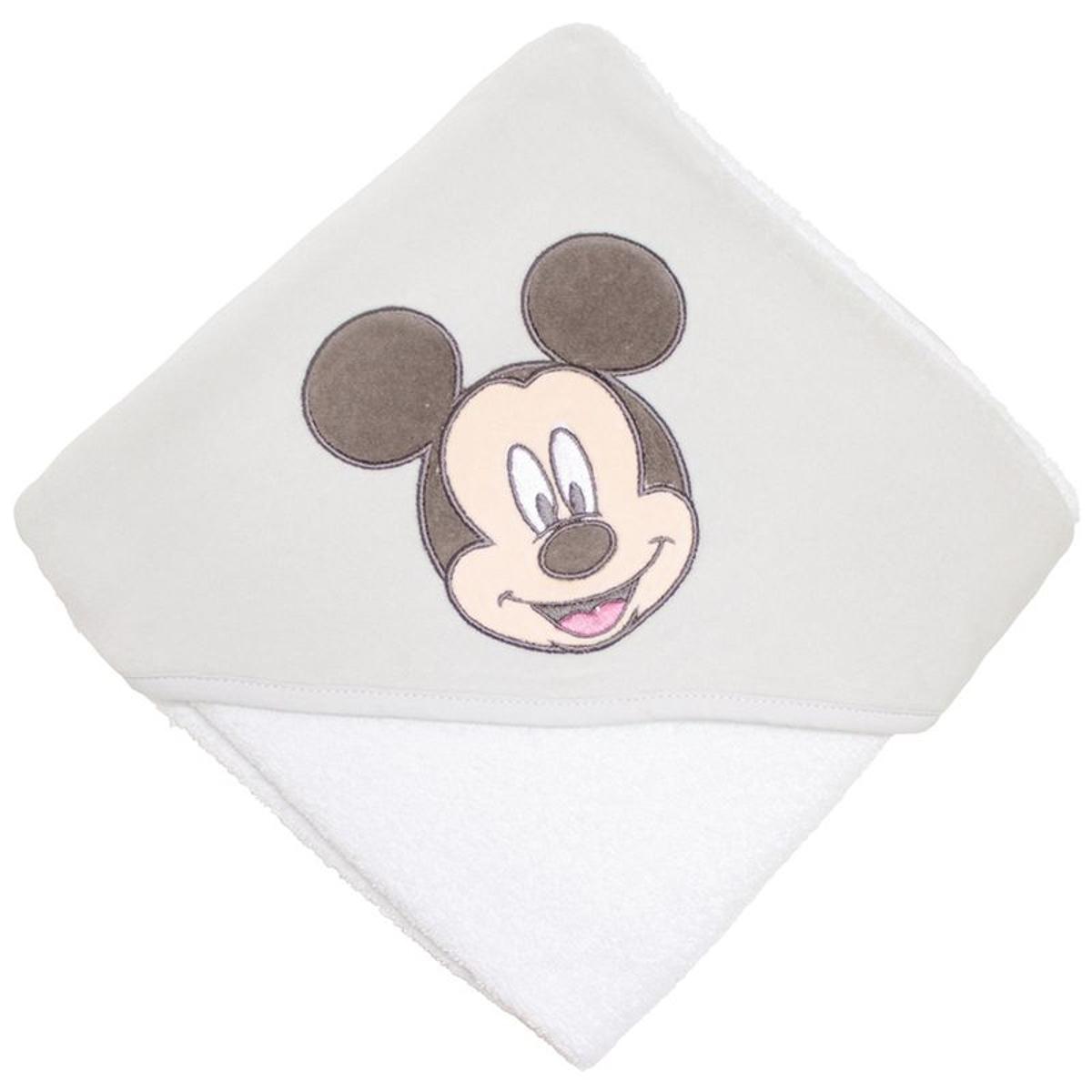 Cape de bain Mickey 80 x 80 cm  - Babycalin