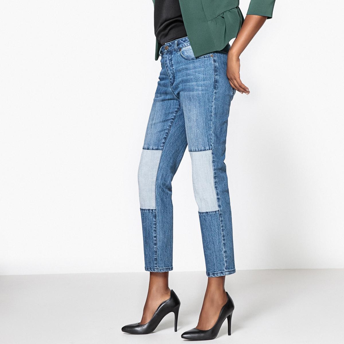 Jeans boyfriend con inserti