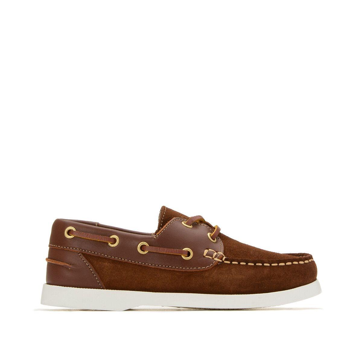 Chaussures bateau en cuir 26-39