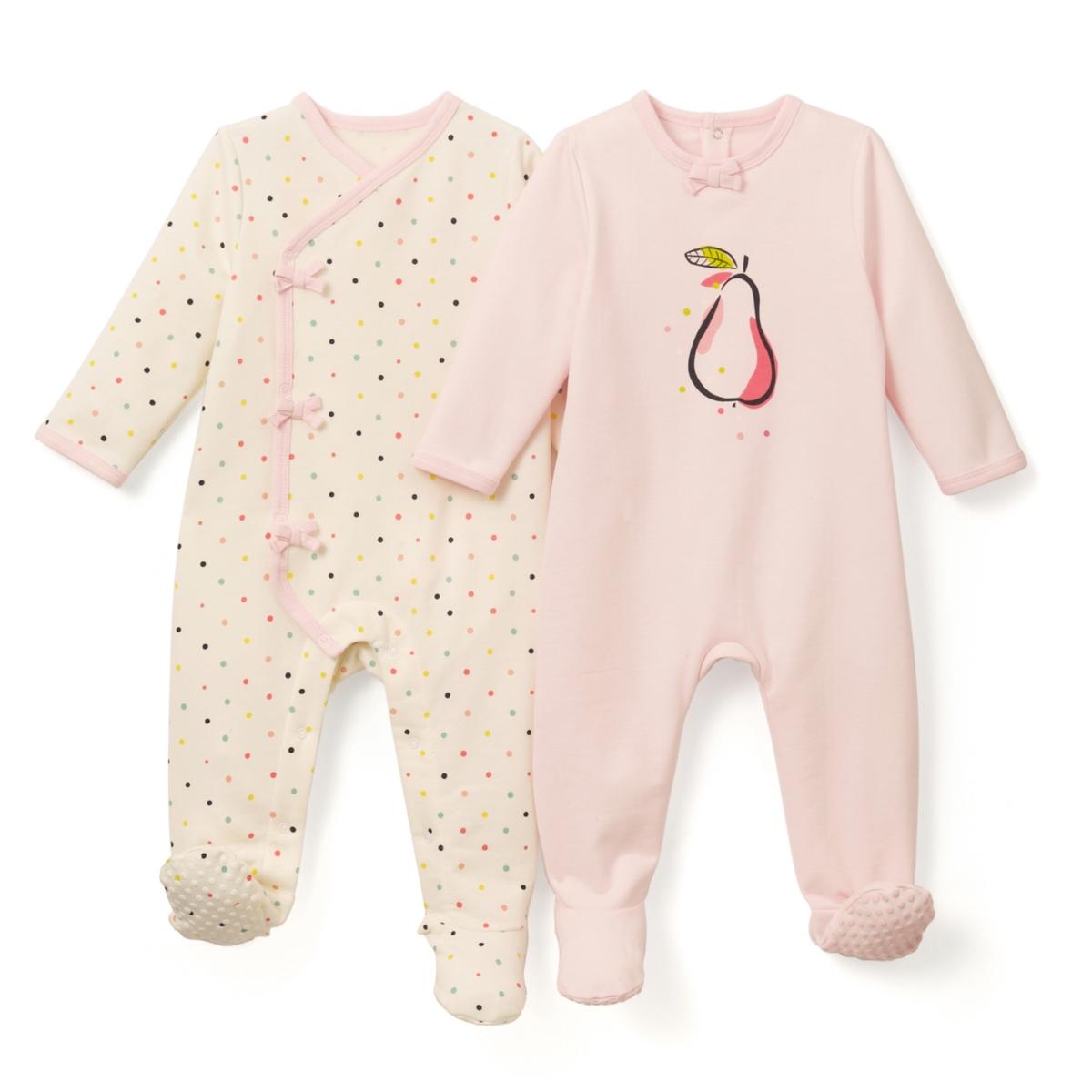 2 пижамы из мольтона 0 мес-3 лет
