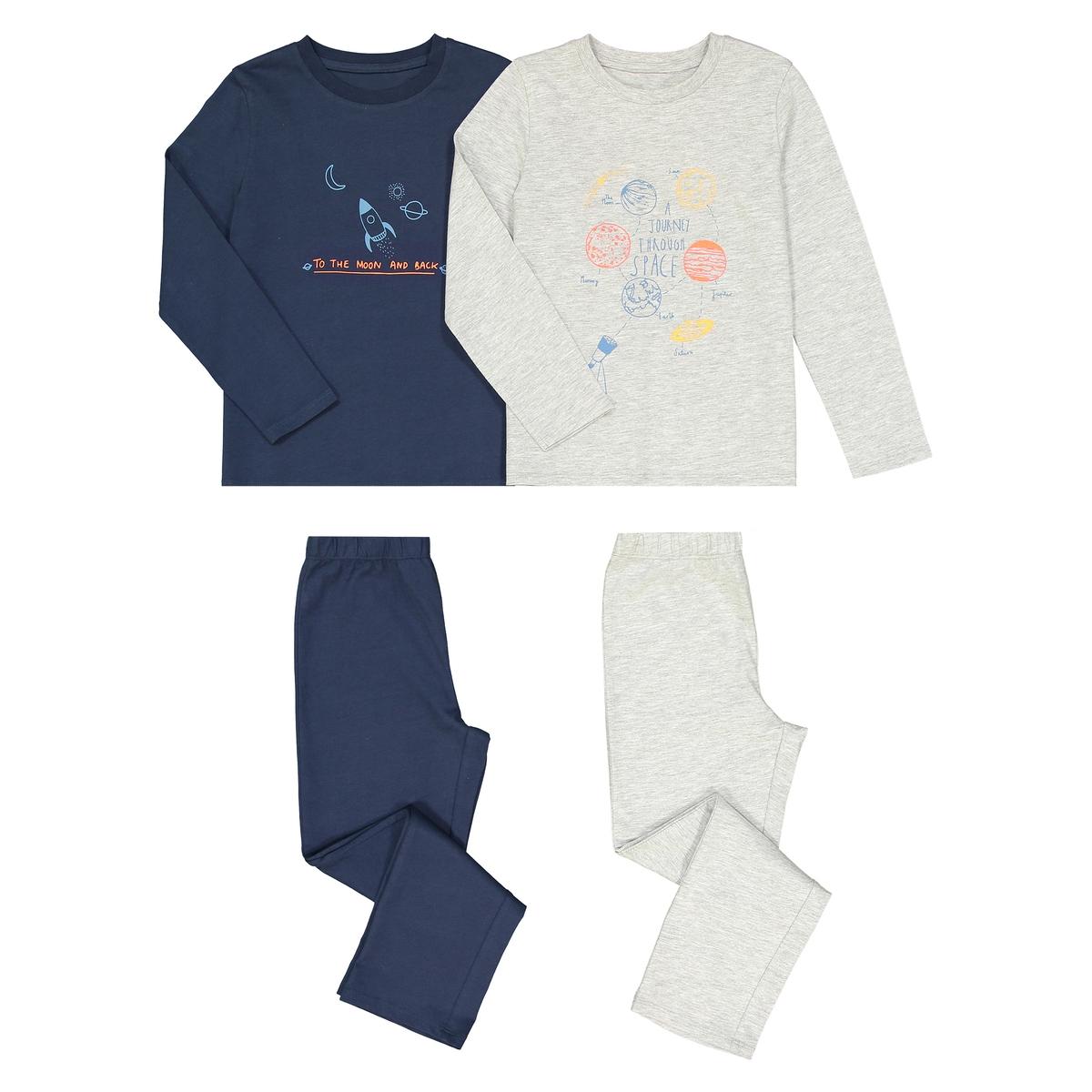 Комплект из 2 пижам, 3-12 лет комплект из 2 пижам с принтом 3 12 лет