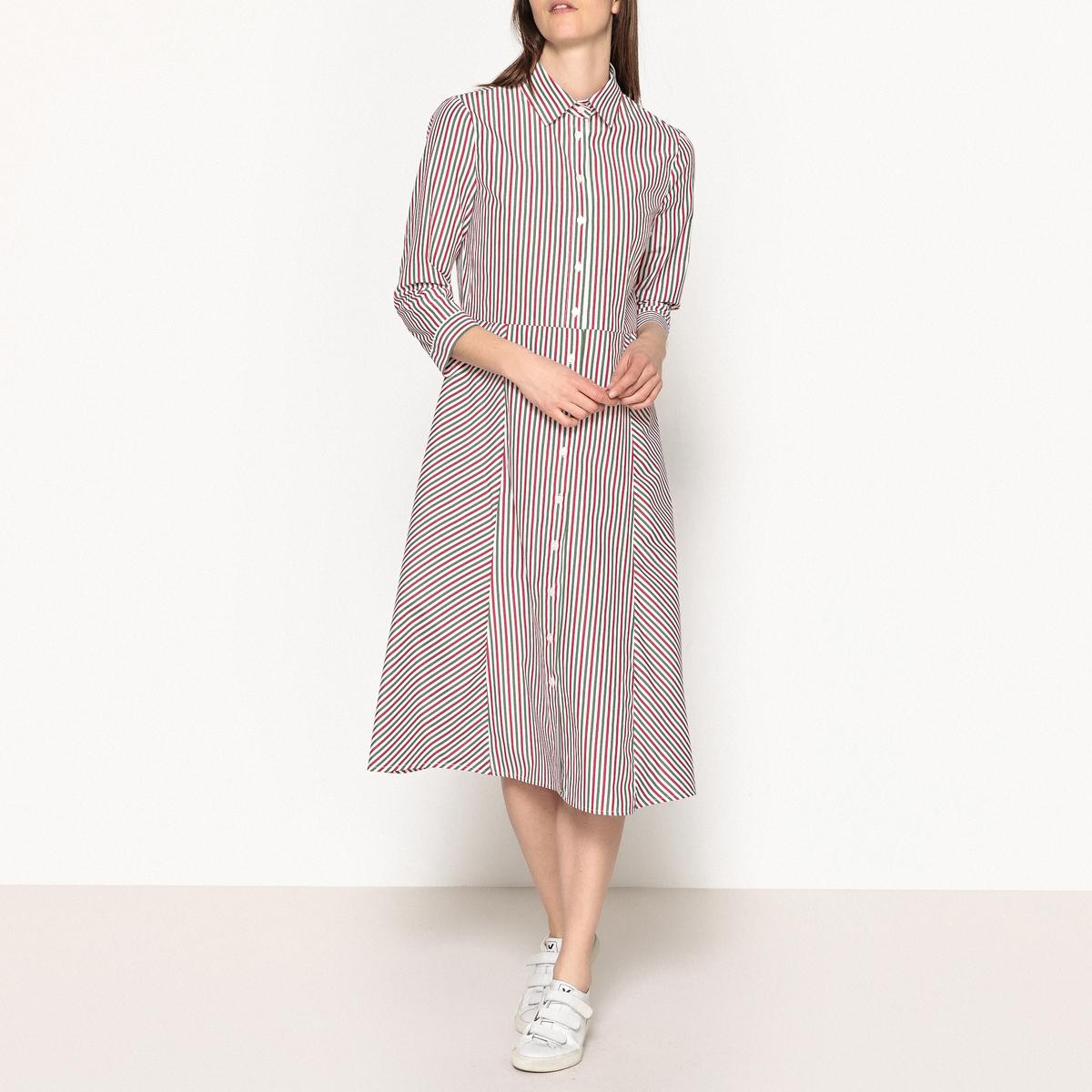 Платье-рубашка в полоску DYNASTIE платье рубашка в полоску dynastie