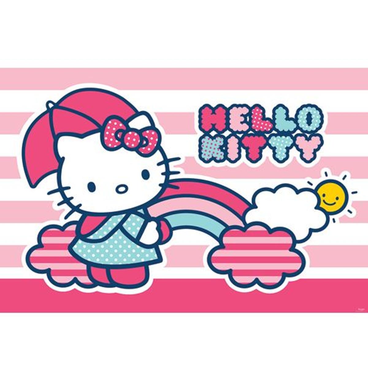 papier peint Hello Kitty - 416 x 254cm