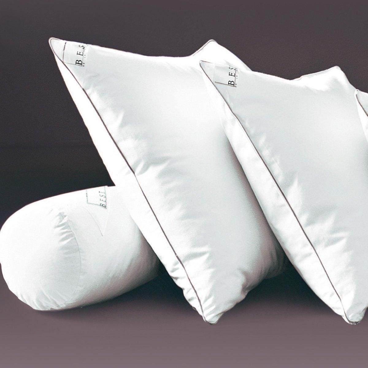 Подушка из латекса с обработкой PRONEEMПодушка из латекса Качество BEST  : упругая подушка из латекса, пышная и гипоаллергенная, не накапливает влагу  . Высококачественное производство. Отделка серым кантом  . Красивый чехол из атласной саржи, 100% хлопка  . Обработка TEFLON против случайных пятен  .НАПОЛНЕНИЕ : из латекса  . Комфорт и естественная эластичность, защита от клещей и грибка. Запоминает форму головы  . Обработка PRONEEM против клещей (на основе натуральных биоразлагаемых компонентов) эффективна даже после многочисленных стирок  .ЧЕХОЛ : Красивый чехол из атласной саржи, 100% хлопка  . Высококачественное производство. Отделка серым кантом  . Обработка TEFLON против случайных пятен . Биоцидная обработка  .Застежка на молнию.Уход : стирка при 60° . Разм. в см.В комплекте- дополнительный мешочек с латексными хлопьями для регулировки жесткости при желании  .В данной гамме 1 подушка (40 x 40) и 1 детская подушка (40 x 60 см)  .<br><br>Цвет: белый<br>Размер: 40 x 60 см.60 x 60  см.40 x 40  см