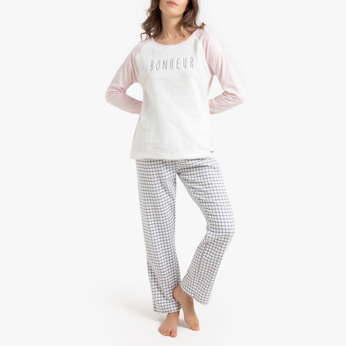 Пижама La Redoute Bonheur M розовый цена