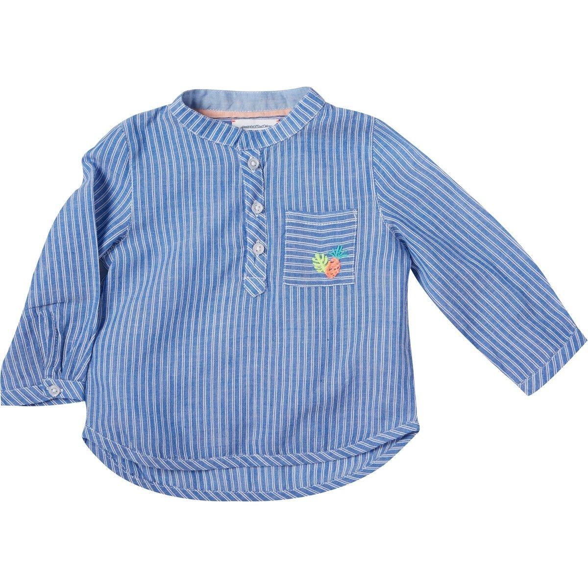 Chemise rayée  Anton bleu
