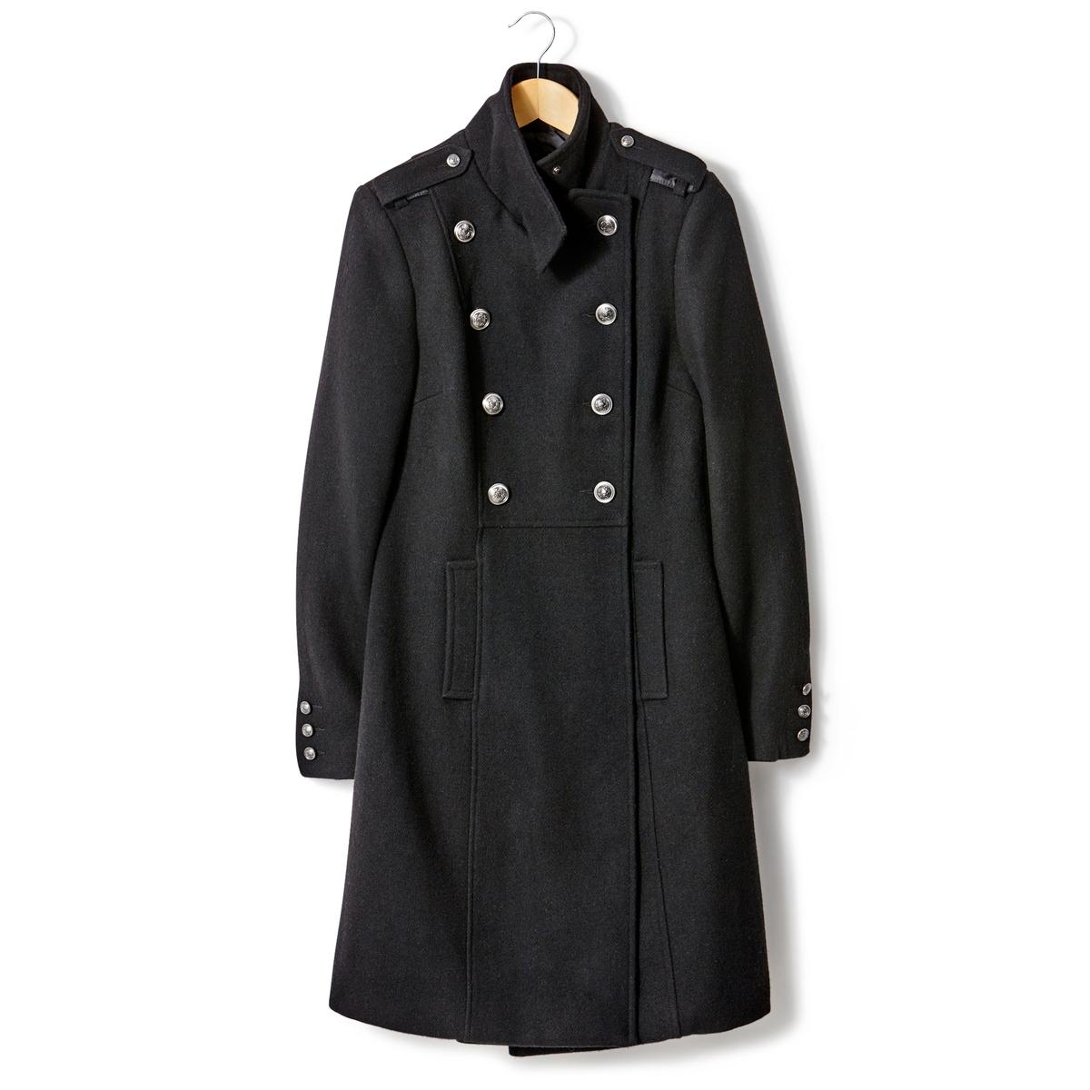 Пальто, 45% шерсти