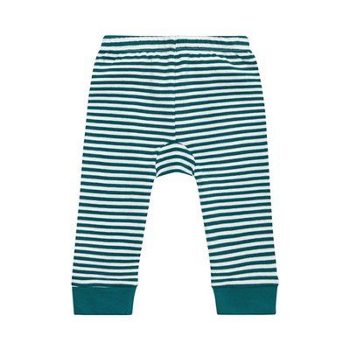 Pantalon en jersey rayé
