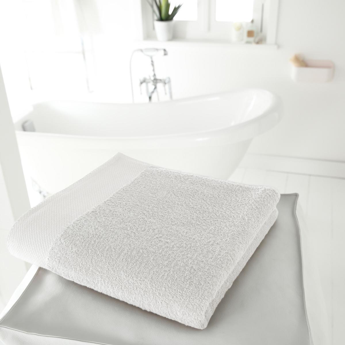Полотенце банное большое, 420 г/м² от La Redoute