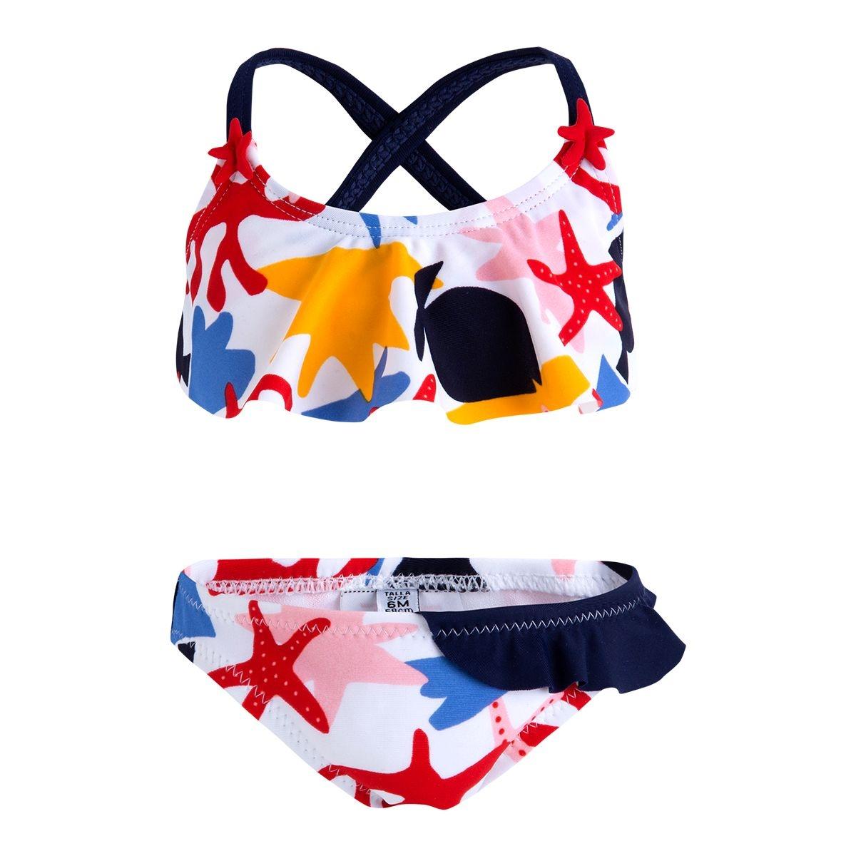 Maillot de bain bikini 2 pièces arrecife de motif dos