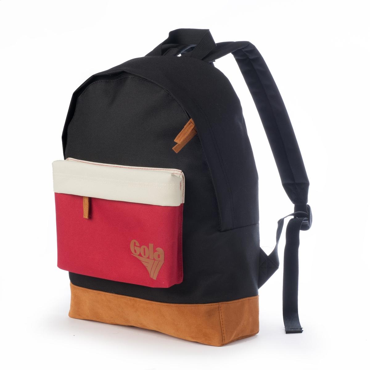 Рюкзак WALKERРюкзак WALKER от GOLAМарка : GOLAВерх : синтетический текстильЗастежка : на молниюКарманы : передний карман на молнии мягкие регулируемые лямки   Преимущества : этот рюкзак от GOLA пригодится вам благодаря своему хорошему объему и яркому внешнему виду .<br><br>Цвет: черный<br>Размер: единый размер