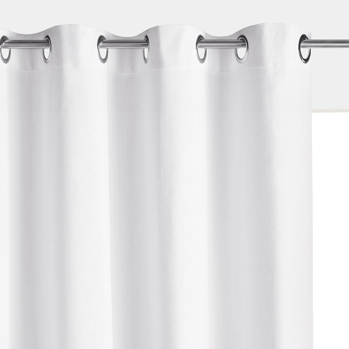 Штора однотонная из 100% плетеного хлопка PANAMA римская штора tanaro quelle my home 736242 в ш ок 140 140 см