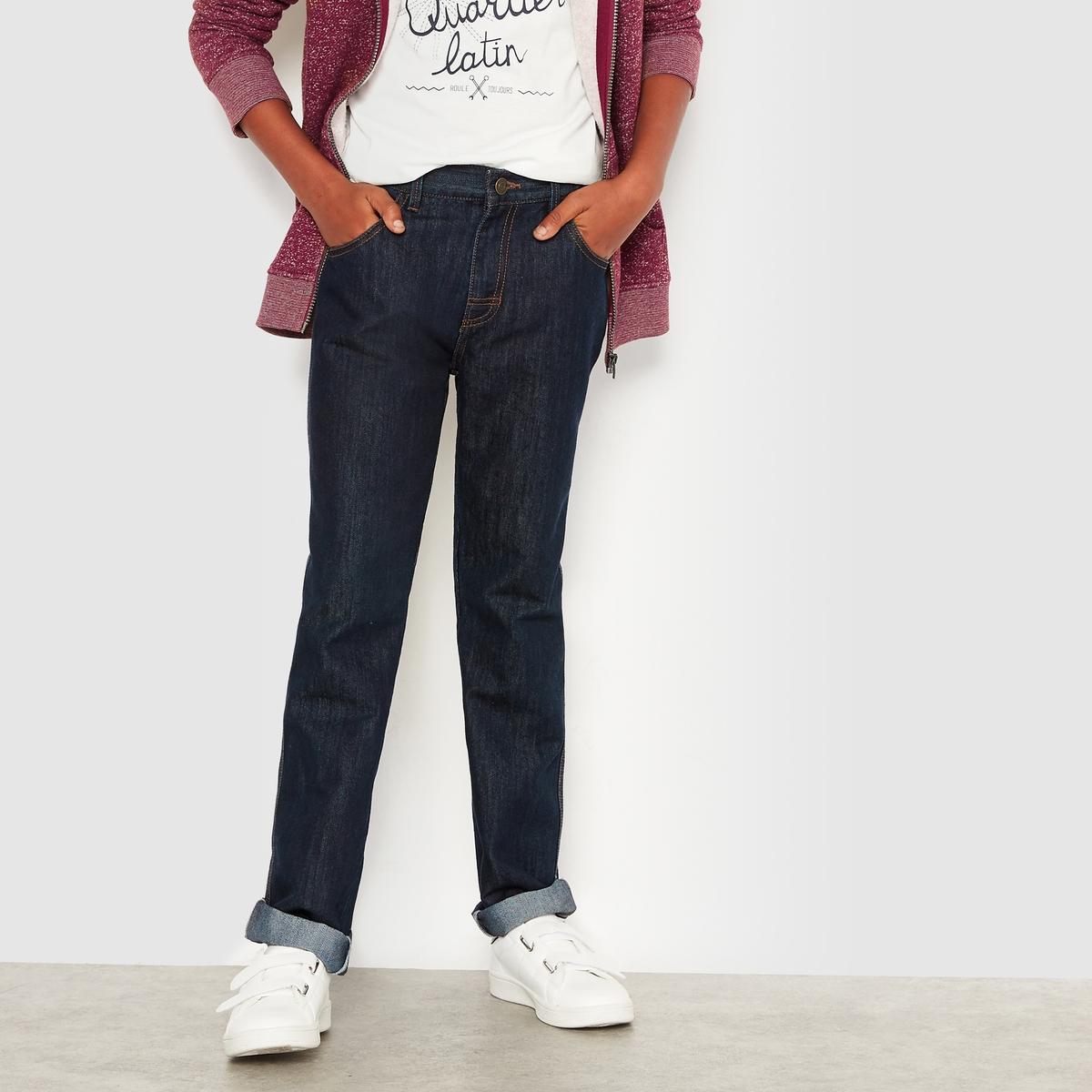 Джинсы широкие, 10-16 летШирокие джинсы с 5 карманами из денима. Пояс регулируется внутренней резинкой на пуговице. Застежка на молнию и пуговицу.  Состав и описаниеМатериал       деним 58% хлопка, 42% полиэстераМарка       R essentielУходСтирать и гладить с изнаночной стороныМашинная стирка при 30 °С в умеренном режиме с вещами схожих цветовМашинная сушка в обычном режимеГладить при умеренной температуре<br><br>Цвет: синий потертый<br>Размер: 10 лет - 138 см