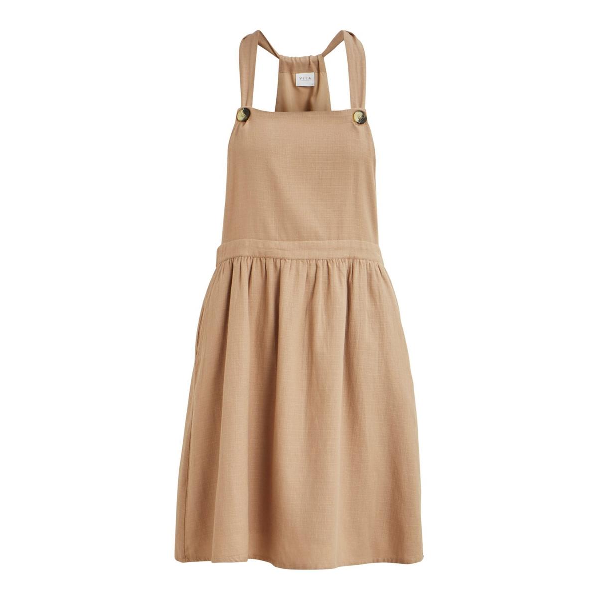 Платье-комбинезон La Redoute Vikaluna 34 (FR) - 40 (RUS) бежевый бушлат la redoute с рисунком клетка 34 fr 40 rus каштановый