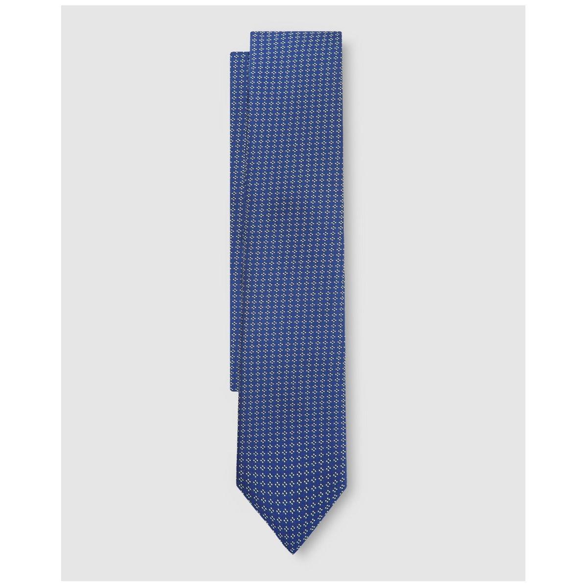 Cravate unie à jacquard fantaisie