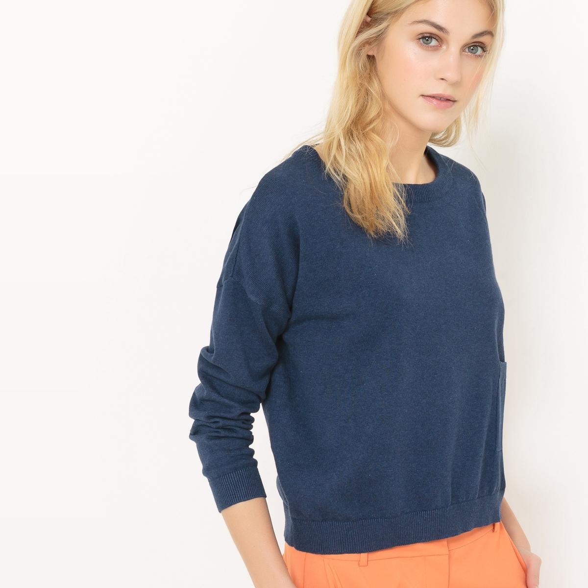 Пуловер квадратной формы