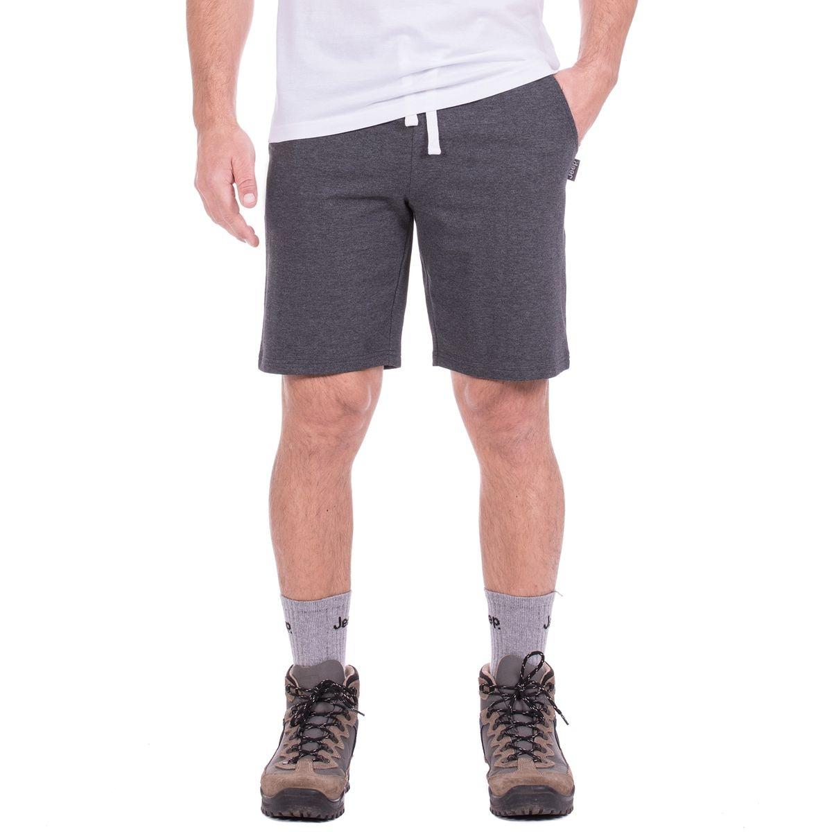 Short Léger en Molleton de Coton J8S