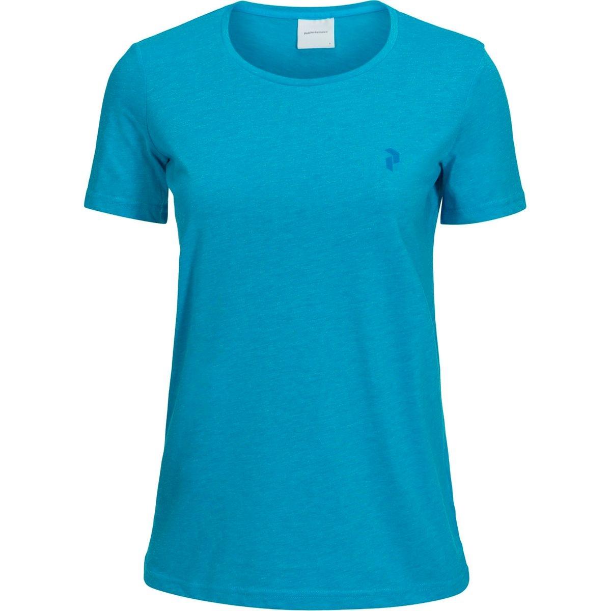 48cbf7da0a4 Track - T-shirt manches courtes Femme - bleu. PEAK PERFORMANCE