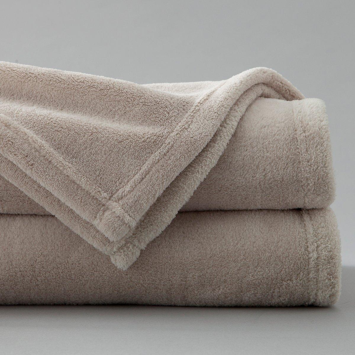 балдахины для кроваток Покрывало La Redoute Из микрофибры гм ELFA 150 x 200 см бежевый
