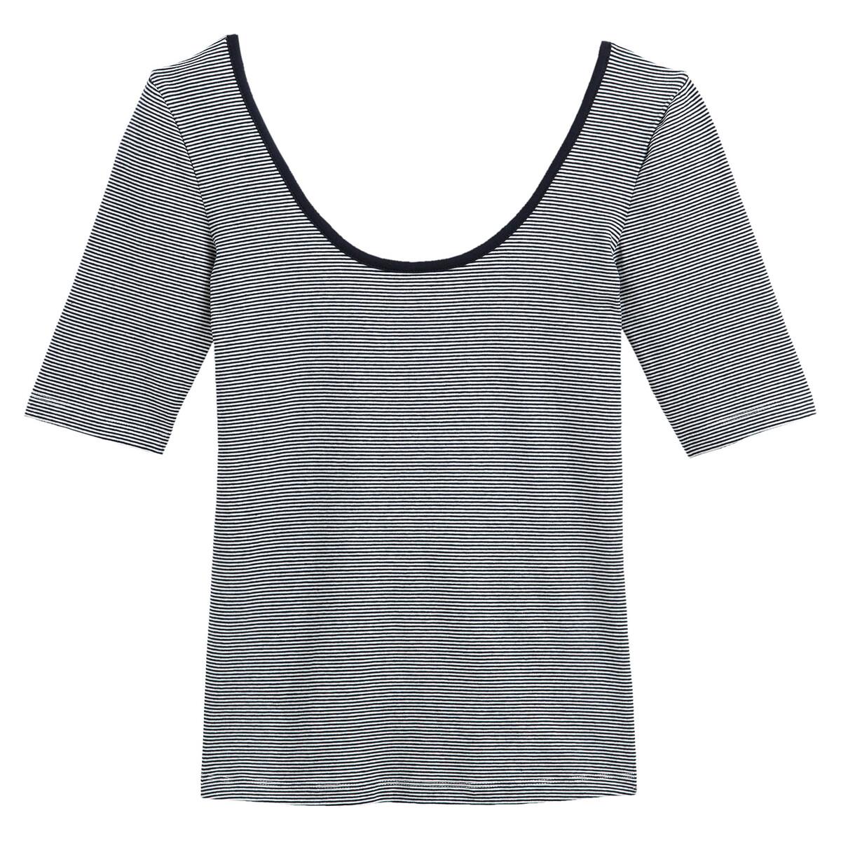 T-shirt encolure ronde manches courtes