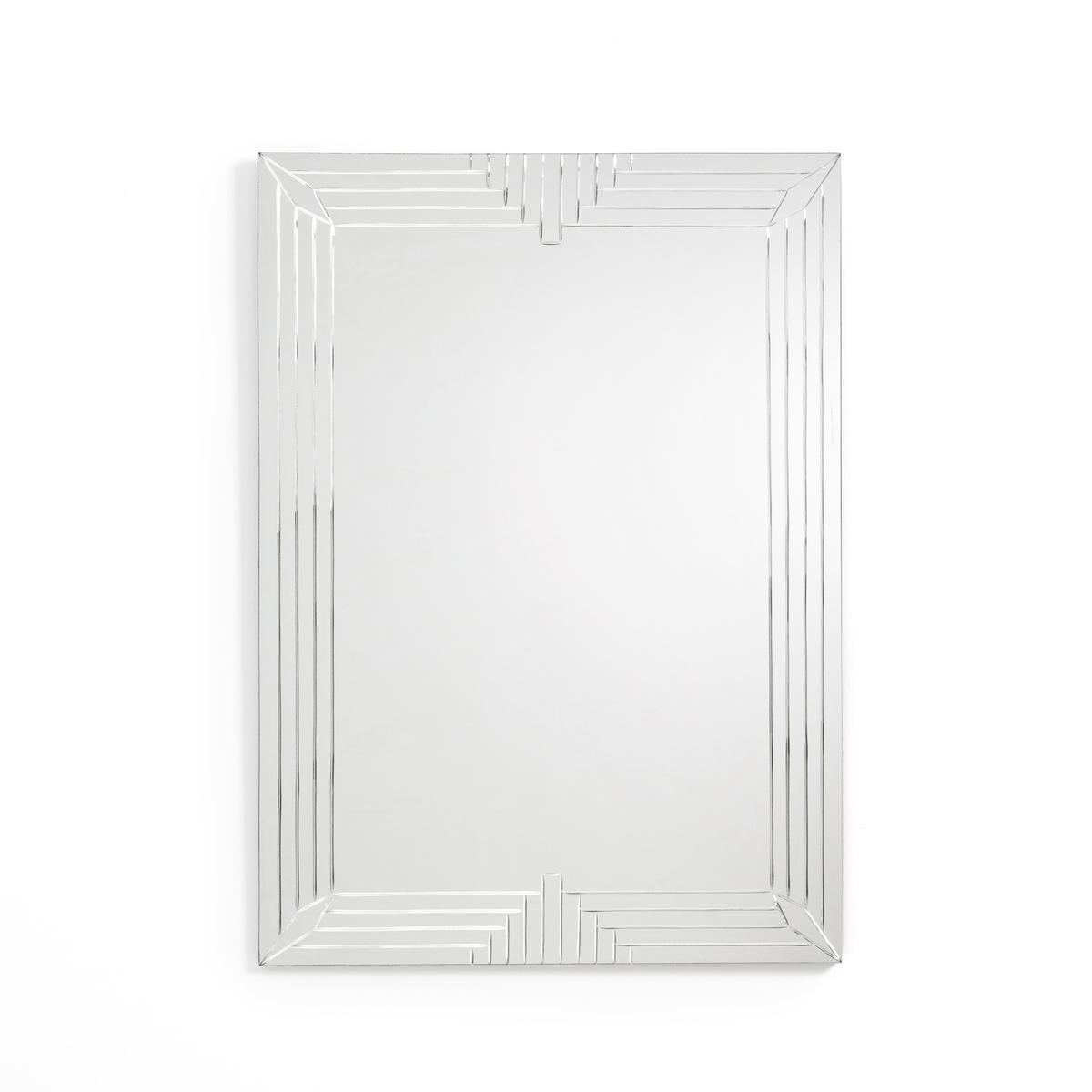 Зеркало La Redoute С гравировкой Valga единый размер другие зеркало la redoute с мозаичным эффектом большая модель kagami единый размер другие