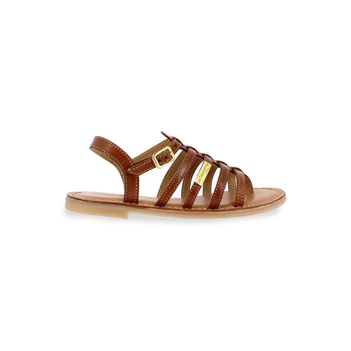 zapatillas Sandalias de piel con tira entre los dedos Hirson