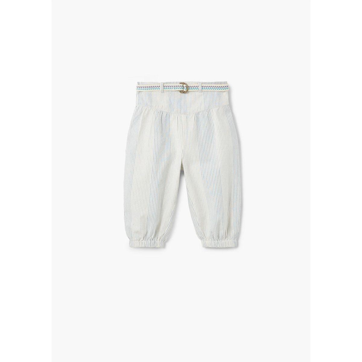 Pantalon baggy à rayures