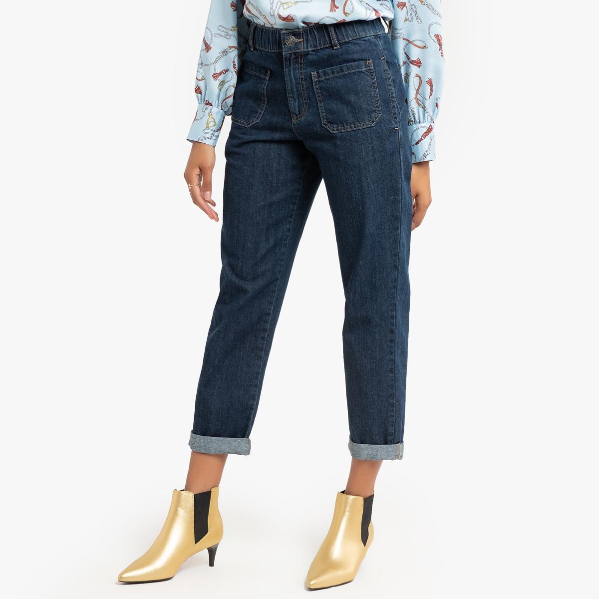 Джинсы-бойфренды La Redoute La Redoute 34 (FR) - 40 (RUS) синий джинсы bray steve alan джинсы бойфренды