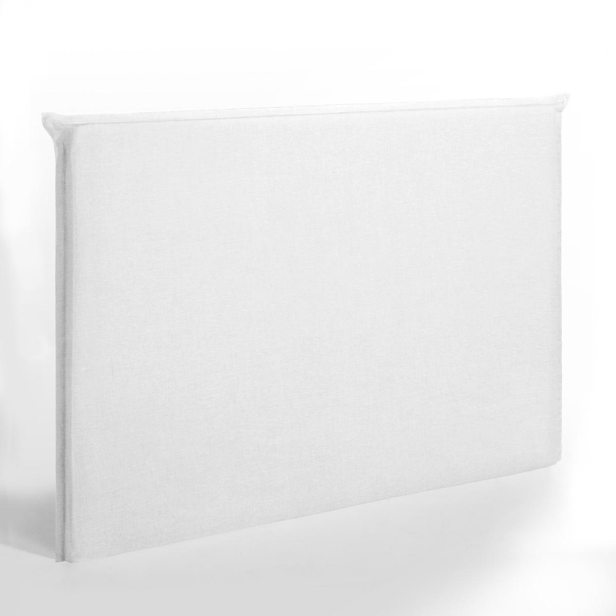 Чехол LaRedoute Для изголовья кровати высотой 135 см из стираного льна Sandor 160 см белый