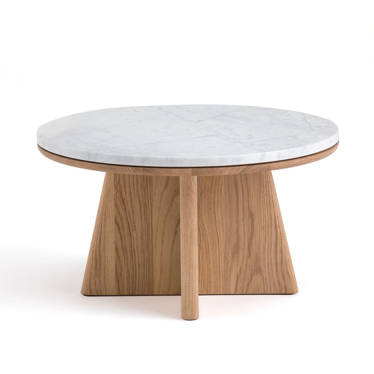 Столик LaRedoute Журнальный круглый chos дизайн Э Галлины единый размер белый