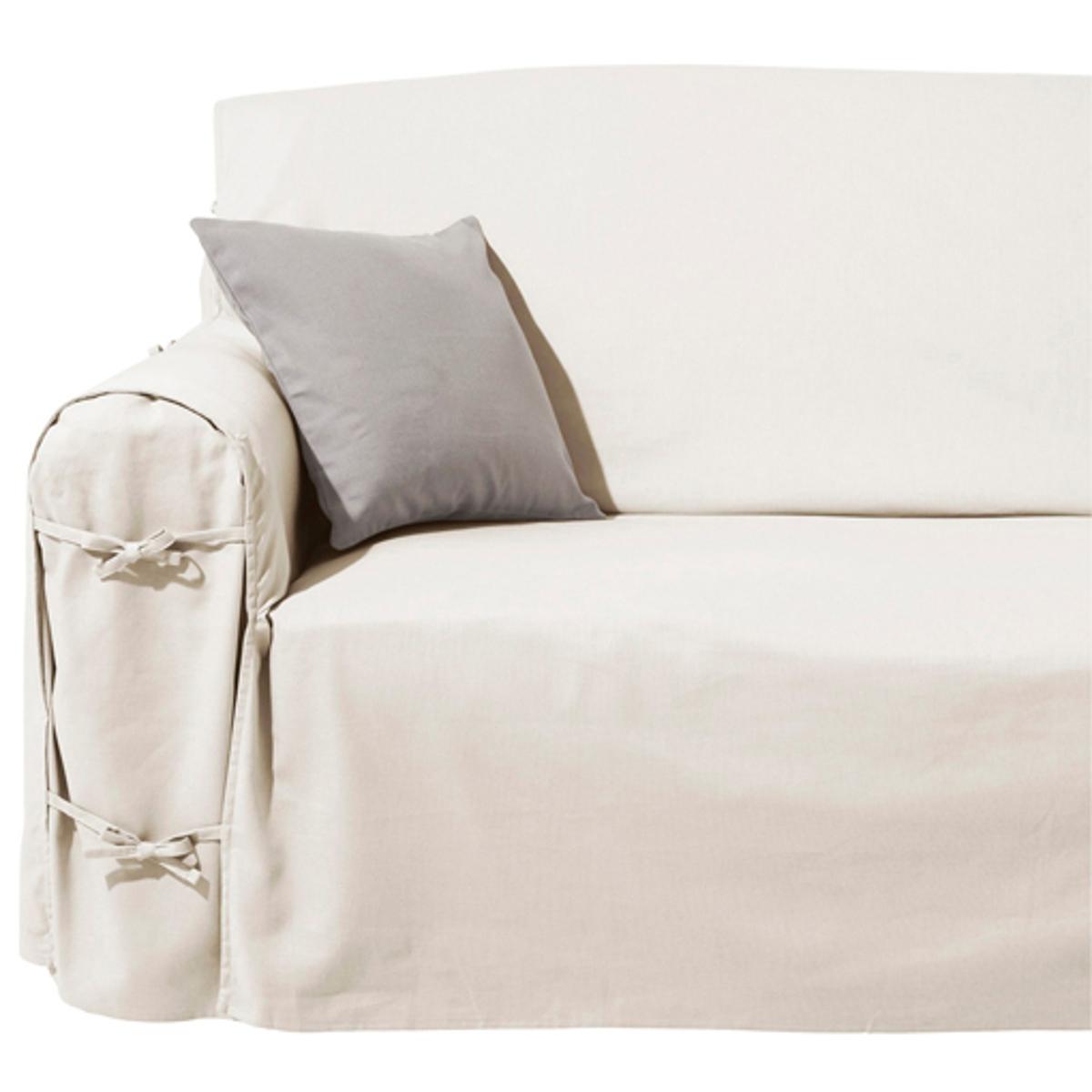 Чехол La Redoute Для дивана SCENARIO 2 места белый чехол la redoute эластичный для кресла и дивана ahmis 3 местн белый
