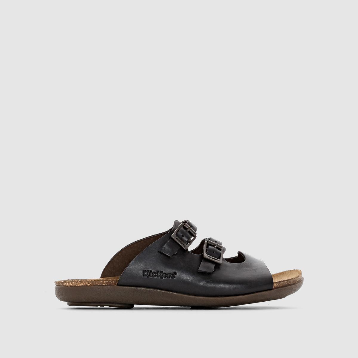 Туфли без задника плоские Atchoum 1, из гладкой кожи
