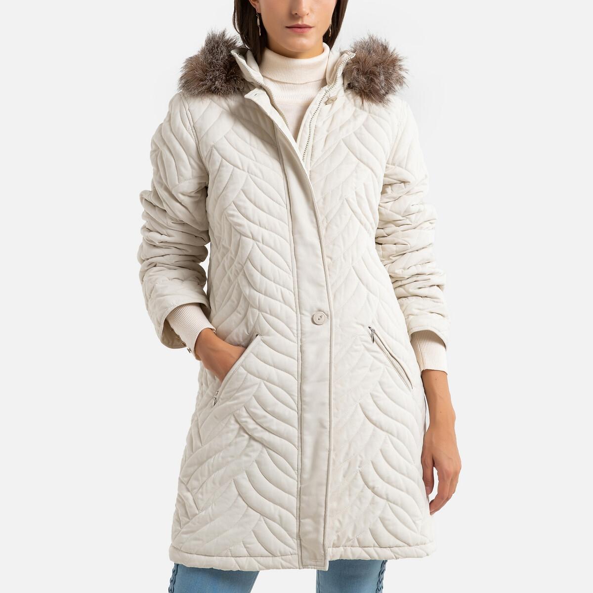 Blusão com capuz, especial frio