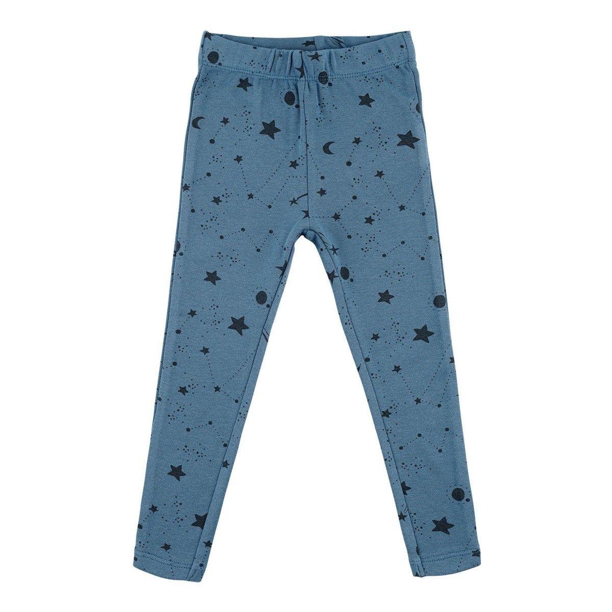 Legging bleu Coton Bio