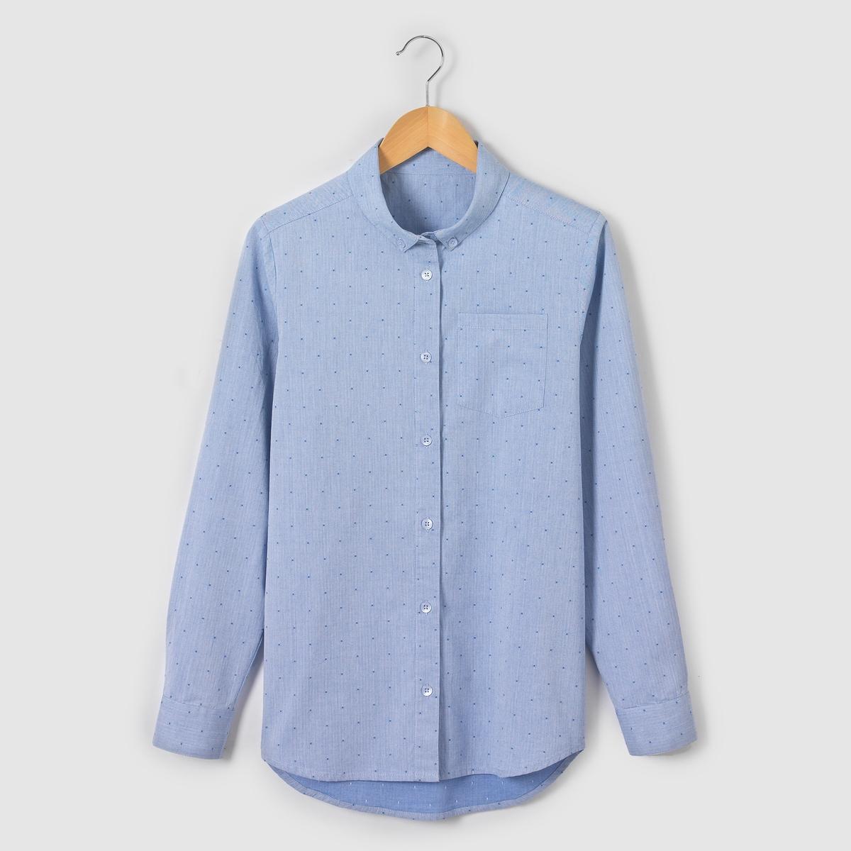 Рубашка в горошек 10-16 лет