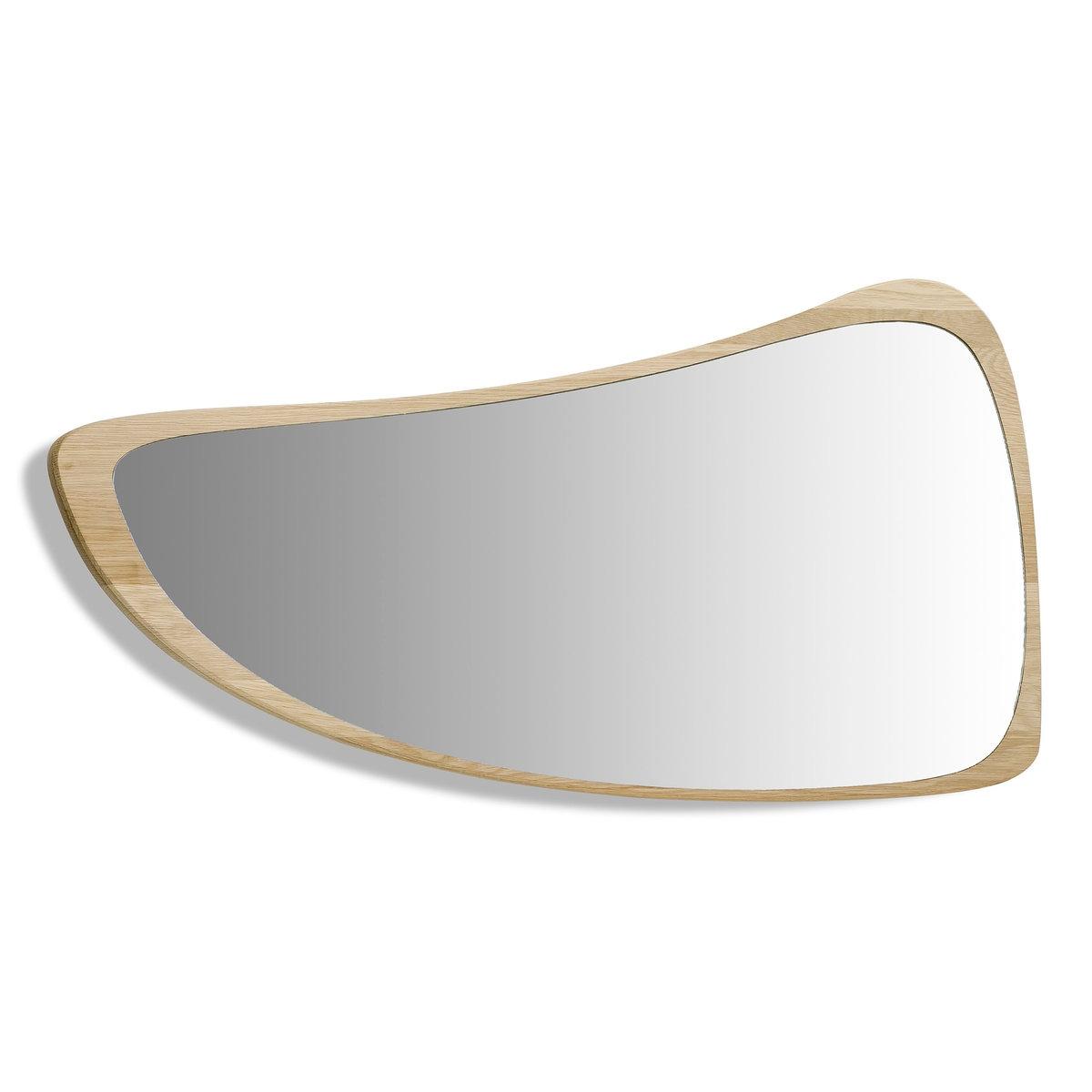 Зеркало Д78 x  В42 см, Principe<br><br>Цвет: серо-бежевый