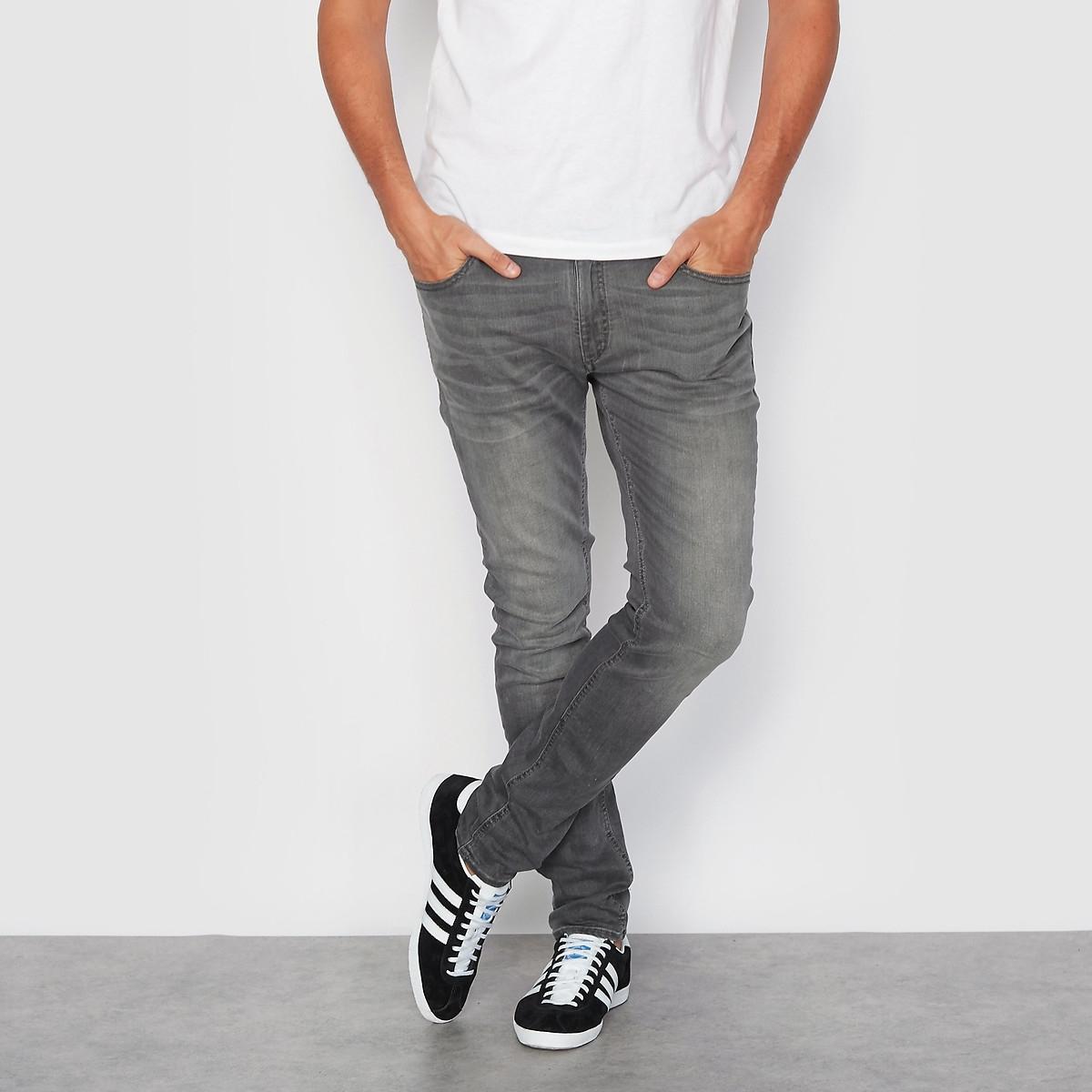 Фото - Джинсы LaRedoute Скинни 29/34 серый джинсы laredoute скинни длина 30 s черный