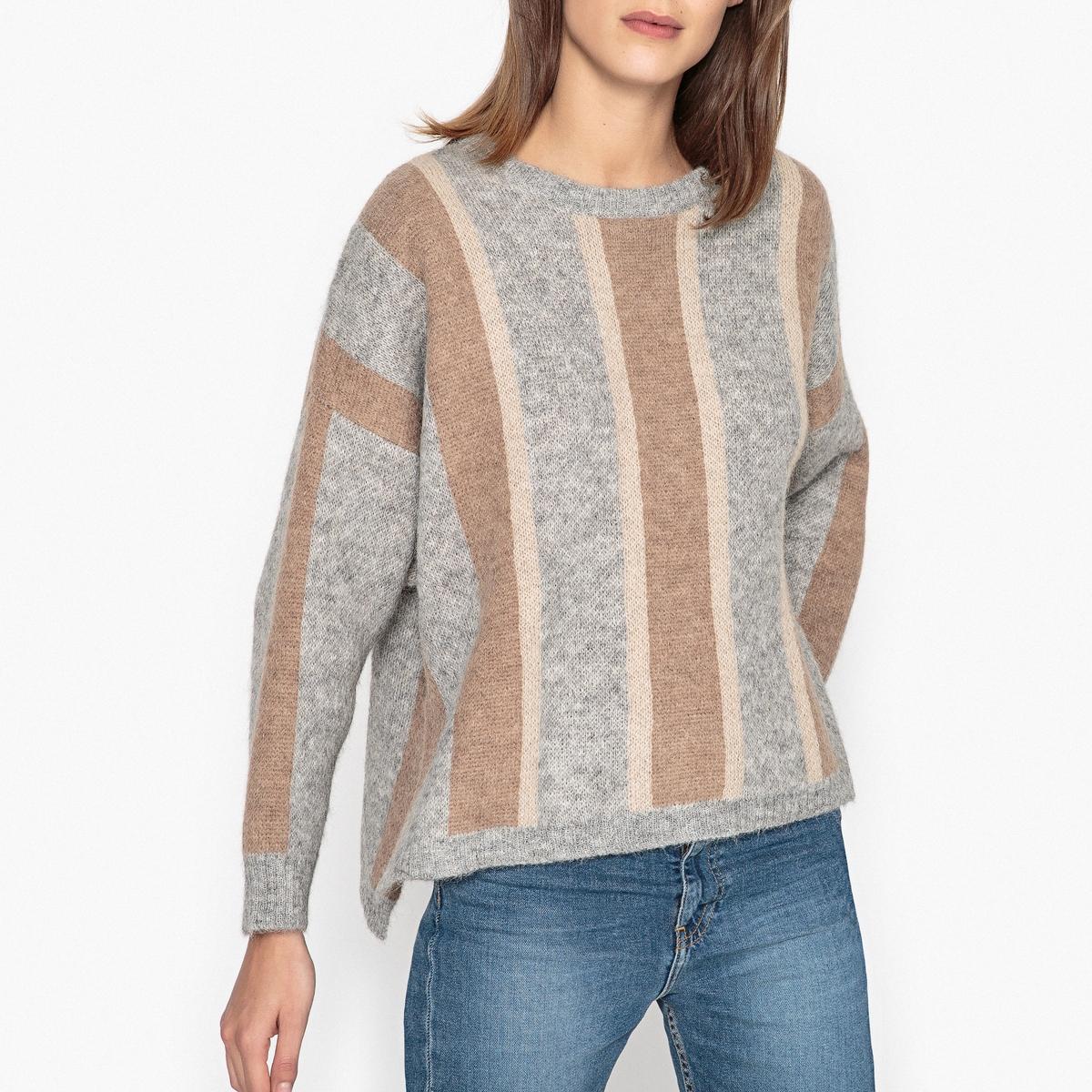 Пуловер свободный CAMPEUR