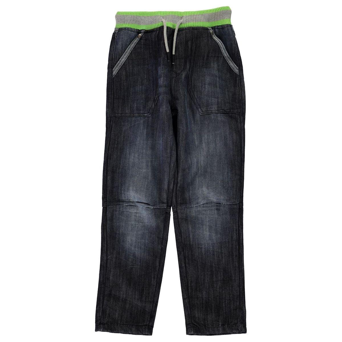 Jog jeans taille élastique
