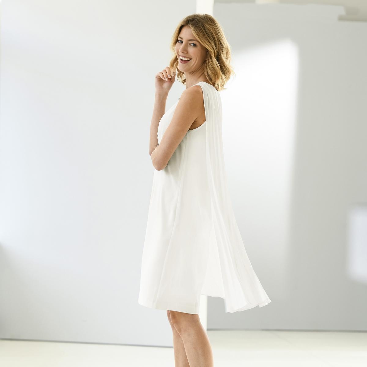 Imagen principal de producto de Vestido plisado, sin mangas - Anne weyburn