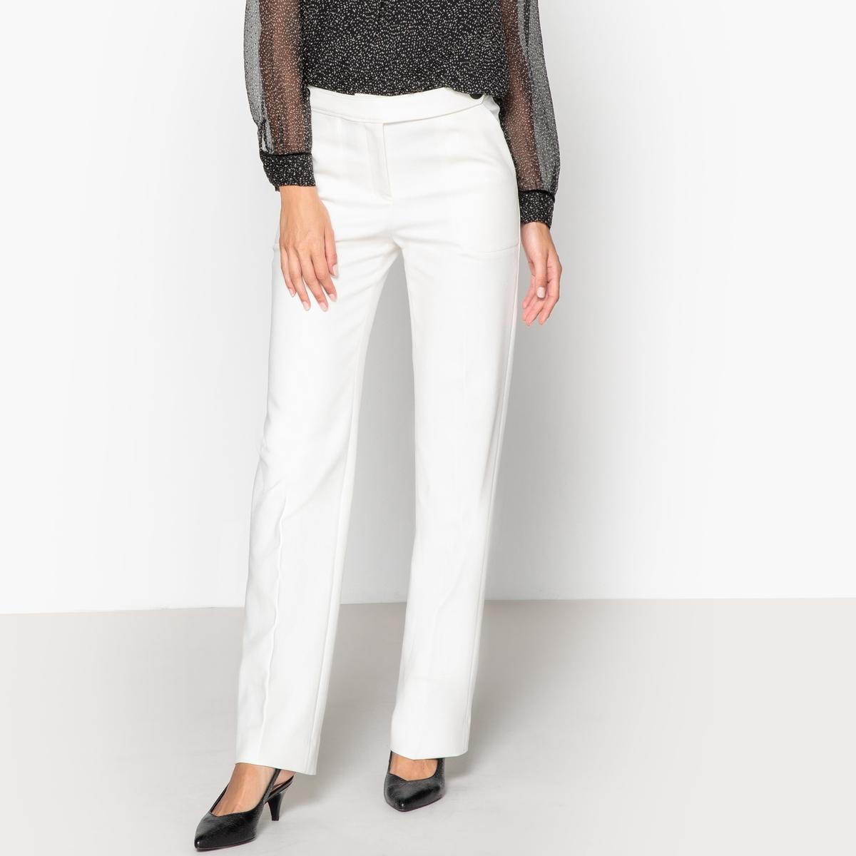 Брюки прямые WALLY прямые брюки с застежкой на молнию cristina effe прямые брюки с застежкой на молнию
