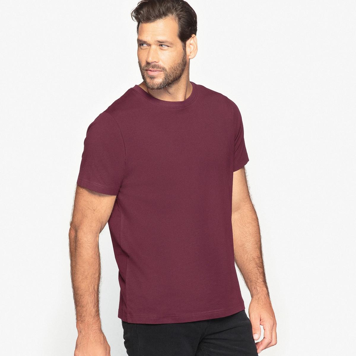 Футболка с круглым вырезом и короткими рукавами, 100% хлопокФутболка с круглым вырезом и короткими рукавами, 100% хлопок.  Необходимая вещь для каждого гардероба, футболка из 100% хлопка  представлена в сдержанной цветовой гамме, чтобы идеально сочетаться с  Вашими рубашками и пуловерами в любой сезон. Футболка из 100% хлопка  (65% полиэстера, 35% хлопка для модели цвета серый меланж). Длина 75 см.- длина спереди : 74 см для размера 50/52 и 85 см для размера 94/96.- длина рукавов : 22,8 см для размера 50/52 и 29,4 см для размера 94/96.<br><br>Цвет: белый,темно-бордовый,темно-серый меланж,темно-синий,хаки светлый,черный,шоколадный<br>Размер: 66/68.86/88.78/80.90/92.94/96.70/72.86/88.94/96.66/68.70/72.66/68.94/96.70/72.90/92.90/92.82/84.74/76.74/76.70/72.86/88.54/56.74/76.66/68.62/64.74/76.54/56.50/52.50/52.62/64.78/80