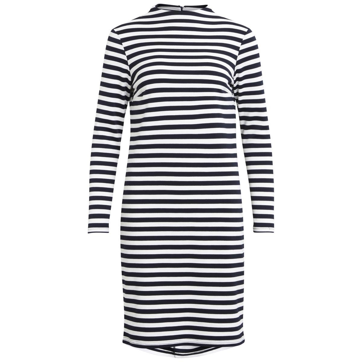 Платье короткое прямого покроя с длинными рукавами vila платье vila модель 25960236