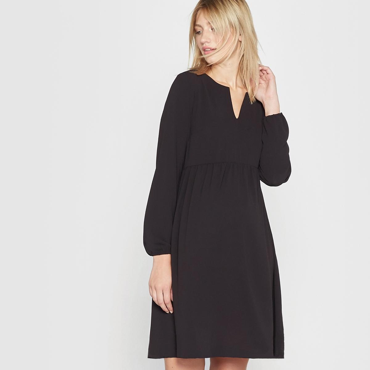 Фото Платье с длинными рукавами для будущих мам. Купить с доставкой