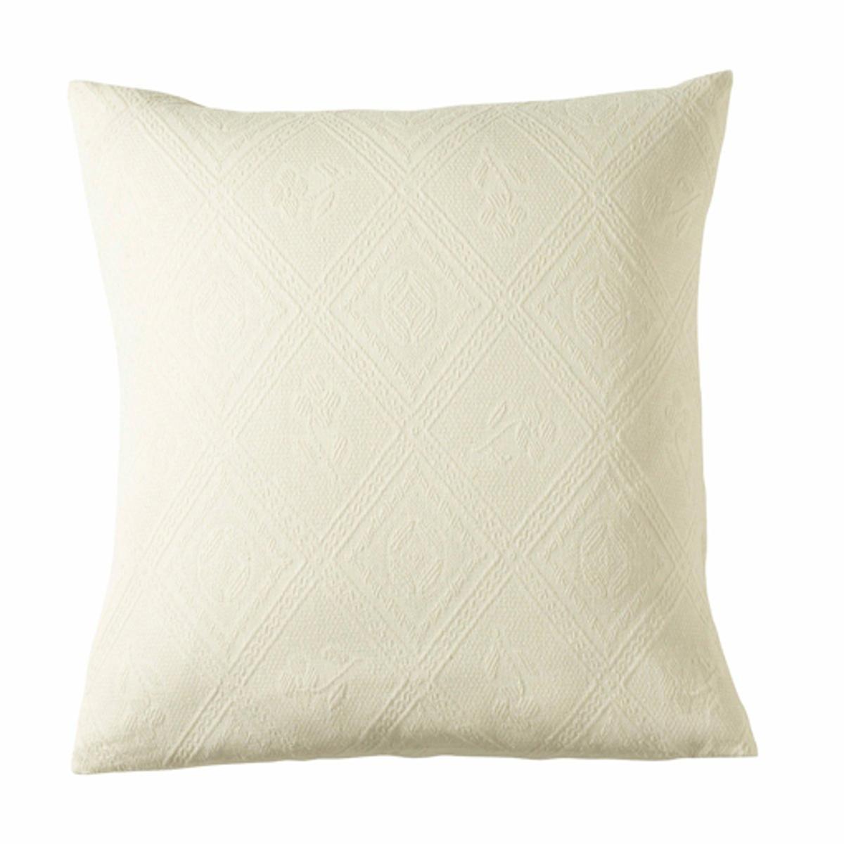Чехол на подушку или наволочка из хлопковой жаккардовой ткани, INDO